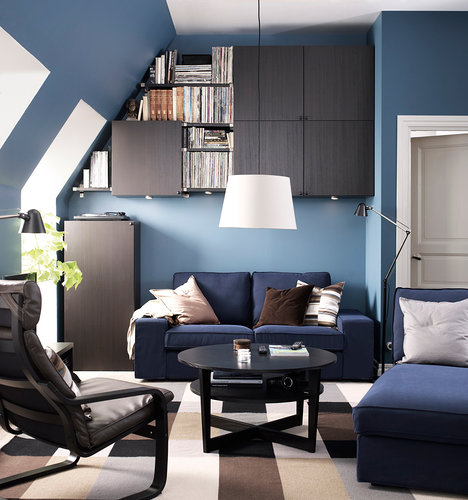Clever Solutions For A Small Living Room