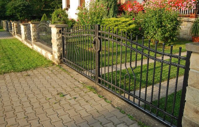 wrought iron fences a luxury you can afford